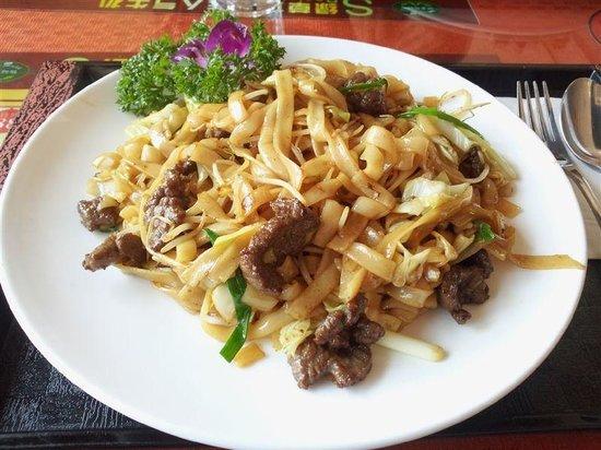 TianXin Western Restaurant : Very tasty beef dry chow fun