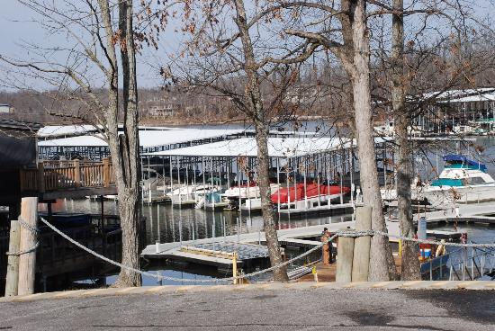 The Buzzard Rock Cafe: Buzzard Rock Marina