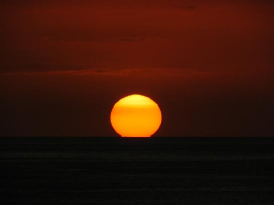 Rincon Beach Resort: Typical sunset