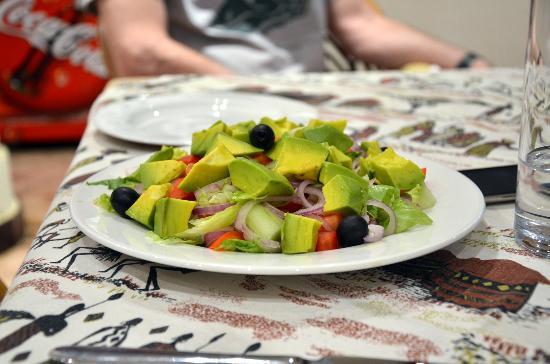Impala Hotel: Avocado Salad, yummy