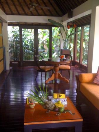 The Pavilions Bali: living area