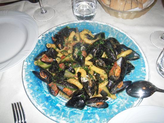 Osteria Antico Giardinetto: お願いして作ってもらったパスタです