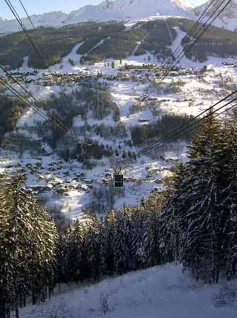 Chalet La Foret : Vanoise Express connecting Les Arcs to La Plagne
