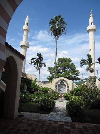 City Hall and Gardens: Opa-locka City Hall gardens