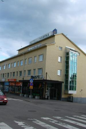 Hamina, Finland: Hotel view