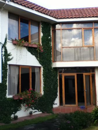 Hotel Rincon Aleman: Main entrance