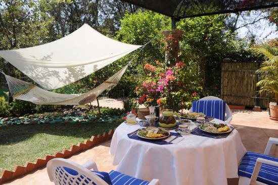 Casa de la Vida: Breakfast Garden