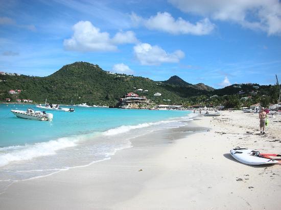 Tom Beach Hotel: St. Jean beach