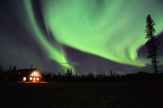 Amazing Aurora over Main Lodge (38371619)