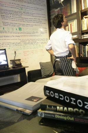 Central Restaurante: Chef's Studio and Study