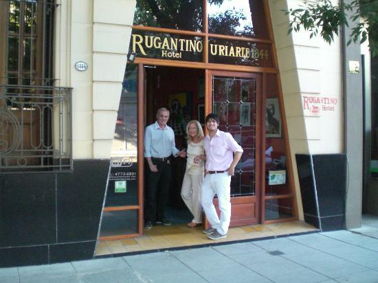 Rugantino Hotel Boutique: ingresso