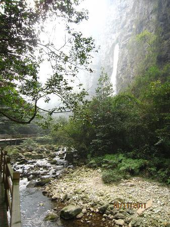 The Grand Canyon of Zhangjiajie: One of the falls