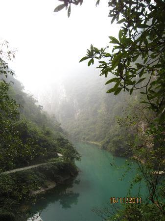 The Grand Canyon of Zhangjiajie: Bridge of glas
