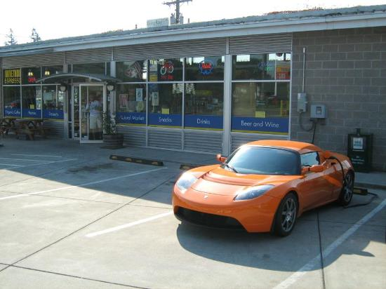 SeQuential Biofuels: Telsa Charging at our station
