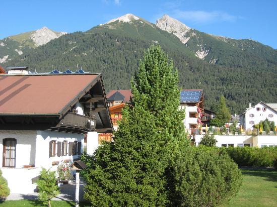 Parkhotel Seefeld: Vue du balcon