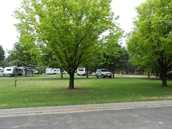 Riverside Caravan & Tourist Park: Well kept and clean areas