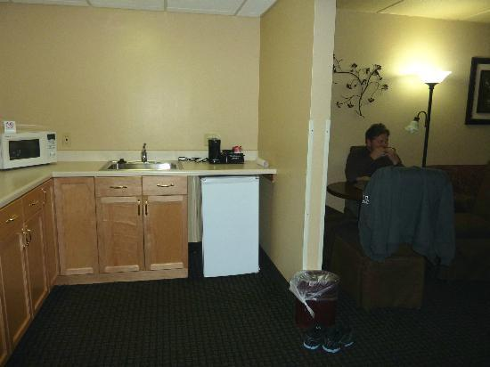 Ramada Plaza Green Bay: kitchenette
