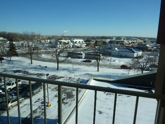 Ramada Plaza Green Bay: view from room 502