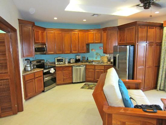 Grand Caribe Belize Resort and Condominiums : The Kitchen in our condo