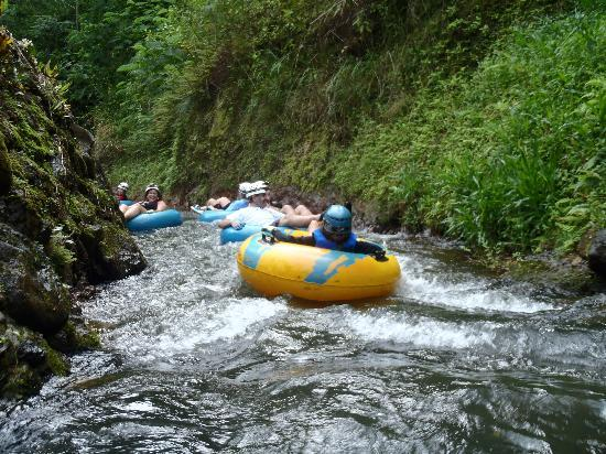 tubing time - Picture of Kauai Backcountry Adventures, Lihue
