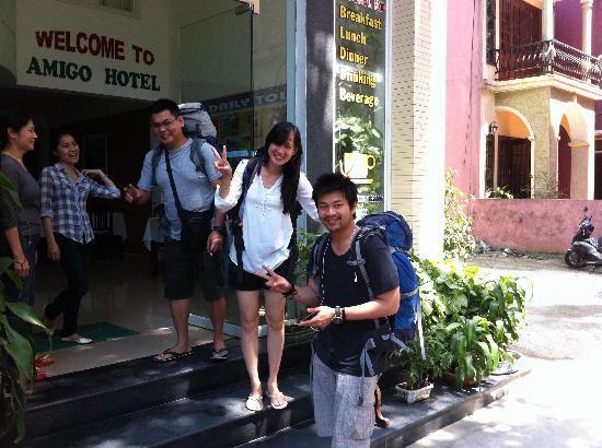 Amigo Hotel: Enterance