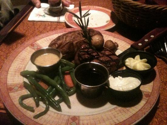 Watermark Grille: the steak are to die for!!