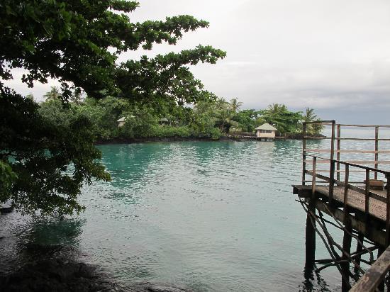 Lusia's Lagoon Chalets: Lucia
