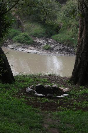 Naibor Camp: Hippo pool