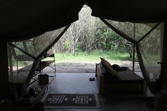 Naibor Camp: Our tent