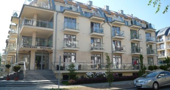 Aparthotel Park Avangard: hotellet