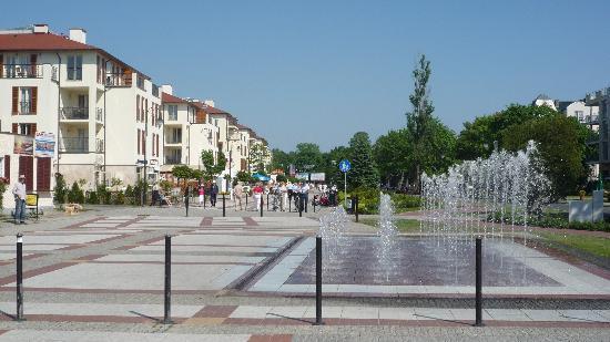 Aparthotel Park Avangard: promenaden