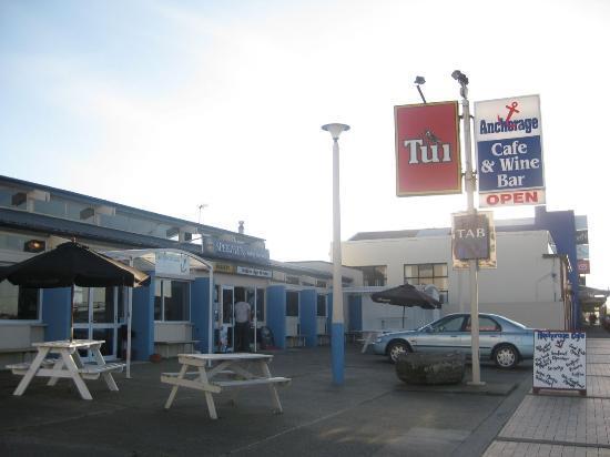 Bluff, New Zealand: Anchorage Cafe & Wine Bar