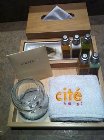 Cite Hotel: Bathroom
