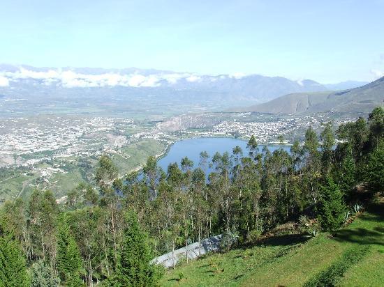 La Estelita: Blick auf den See