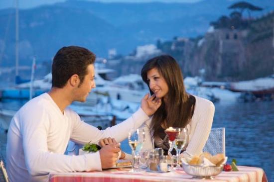 Ristorante Ruccio: romantic location