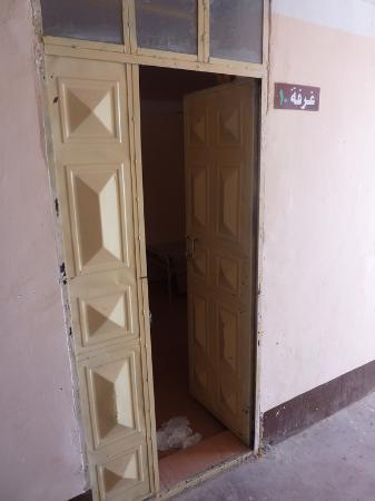 وادي حلفا, السودان: Metal Room Doors Secured by Padlock