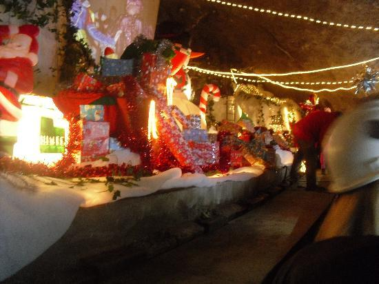 Dudley, UK: santa's grotto