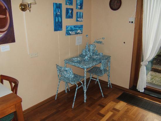 Hotel Coen Delft: delfts blauw ontbijt