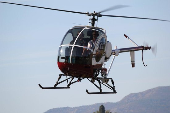 Performance Service Helicopter Rides