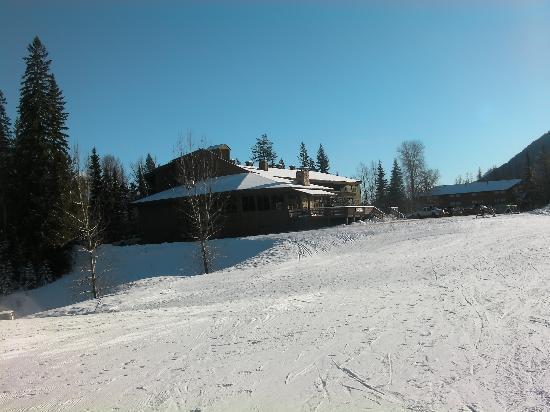 Griz Inn Sport: Taken from the base of a ski lift