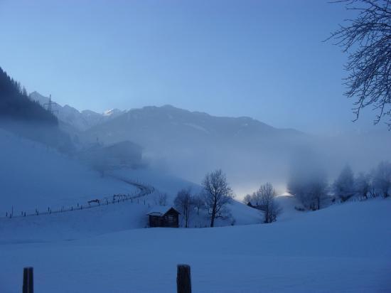 Hotel Seeblick: Matin d'hiver