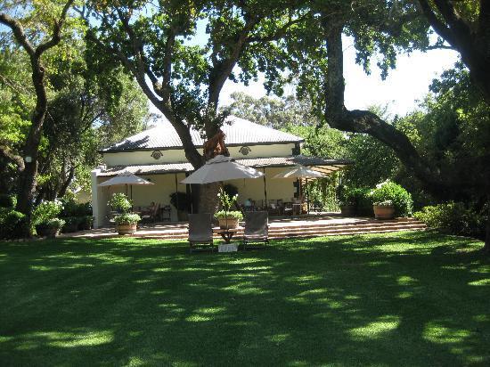 Bartholomeus Klip Farmhouse: Gardens