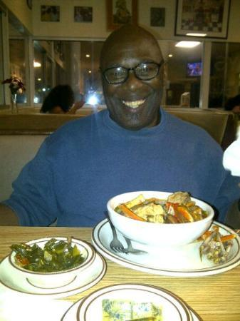 Seafood Gumbo Collard Greens Picture Of M M Soul Food Restaurant