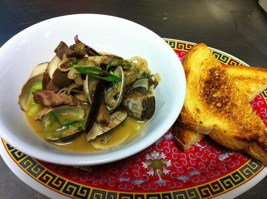 Fatty Crab: Clams and House Bacon