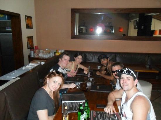 Stakz Bar & Grill: Us at Stakz