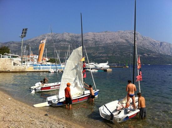 Oreb Club Sailing & Windsurfing School Center : Sailing school