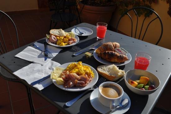 Hotel Restaurant  La Scaletta: super petit déjeuner