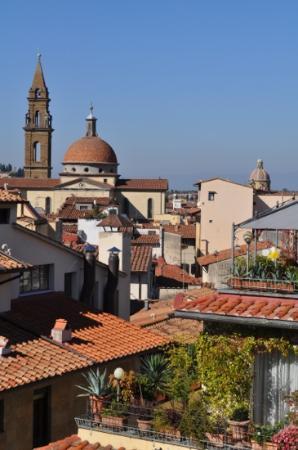 هوتل لا سكاليتا: une autre vue de la deuxième terrasse