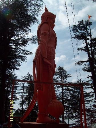 Jakhu Temple: Hanuman Dada's deity