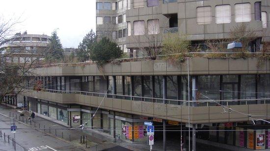 Hotel Ascot: Ausblick 215 - Baustelle wird kommen